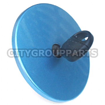 PEUGEOT 206 MODELS FROM 1998 TO 2006 FUEL FILLER CAP WITH KEY BLUE MET